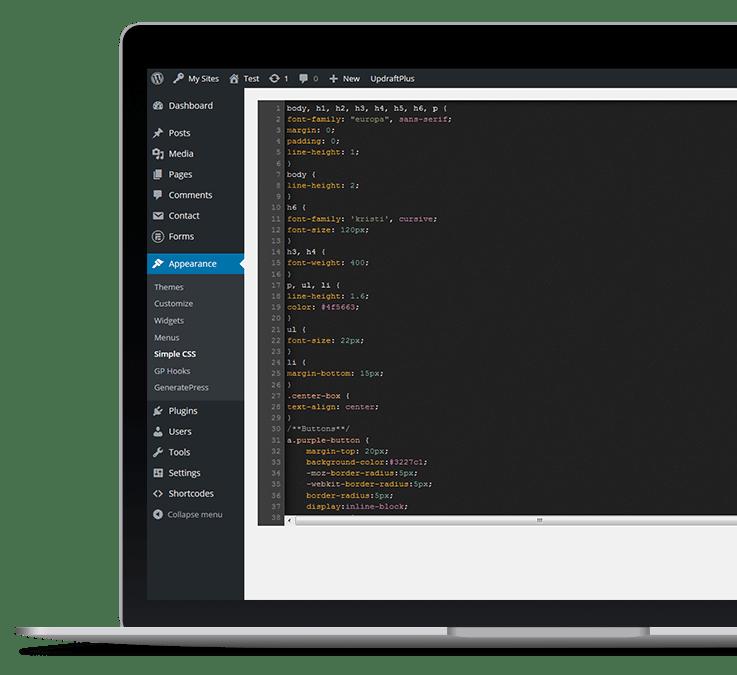 Ali Rand Web Design Coding