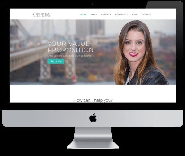 Ali Rand Web Design Kensington 2017 version of a timesaver website for entrepreneurs