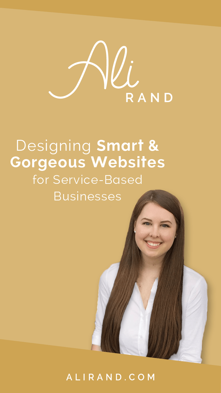 Ali Rand Web Designer for Service Based Busiensses