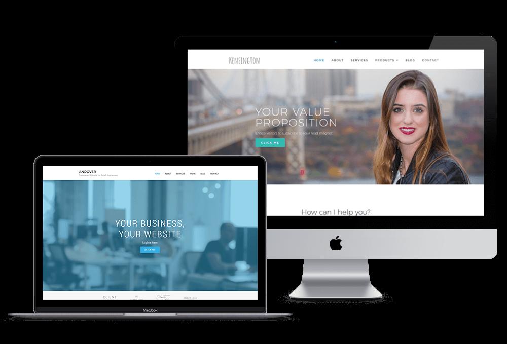 Ali Rand Website Design Timesaver Mockup 2017