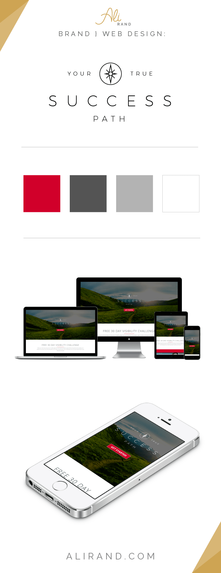 Ali Rand Website Design for Your True Success Path