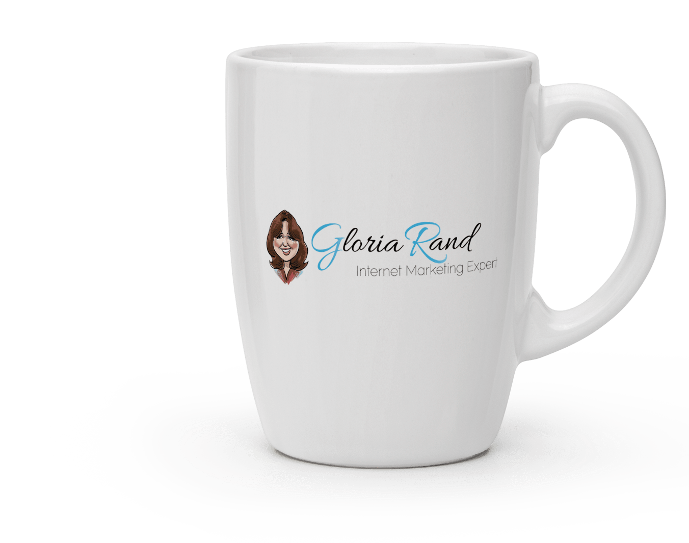 Gloria Rand Mug Logo Design