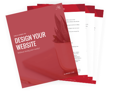 5 Steps to Designing Your Website by Ali Rand