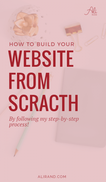 Want to build a website, but have no idea where to start? Learn to do it right with my post plus get your FREE Ultimate Website Checklist!
