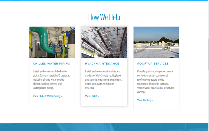 Ali Rand Web Design for Starr Mechanical How We Help