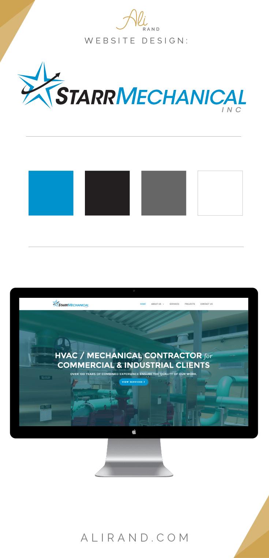 See how this custom website design happened by Ali Rand Web Design for Starr Mechanical Inc. >> https://alirand.com/portfolio/starr-mechanical/
