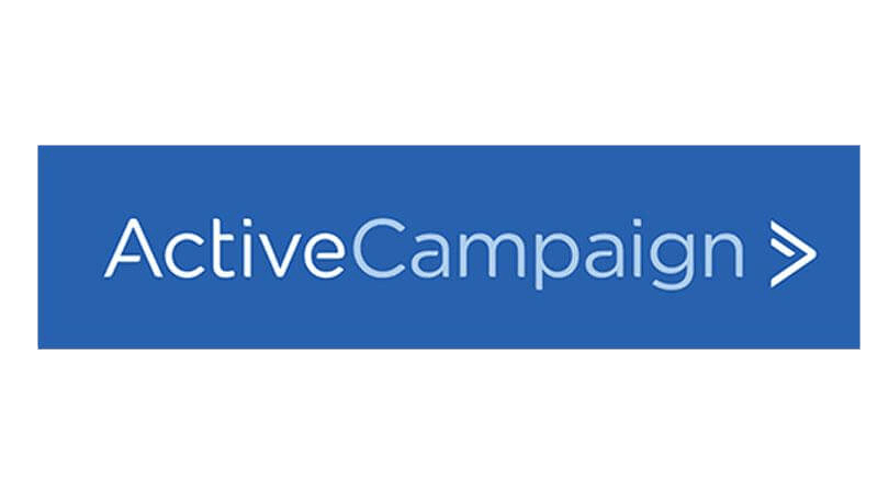 ActiveCampaign logo for email marketing and automation