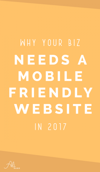 Why Your Business Needs a Mobile-Friendly Website Now