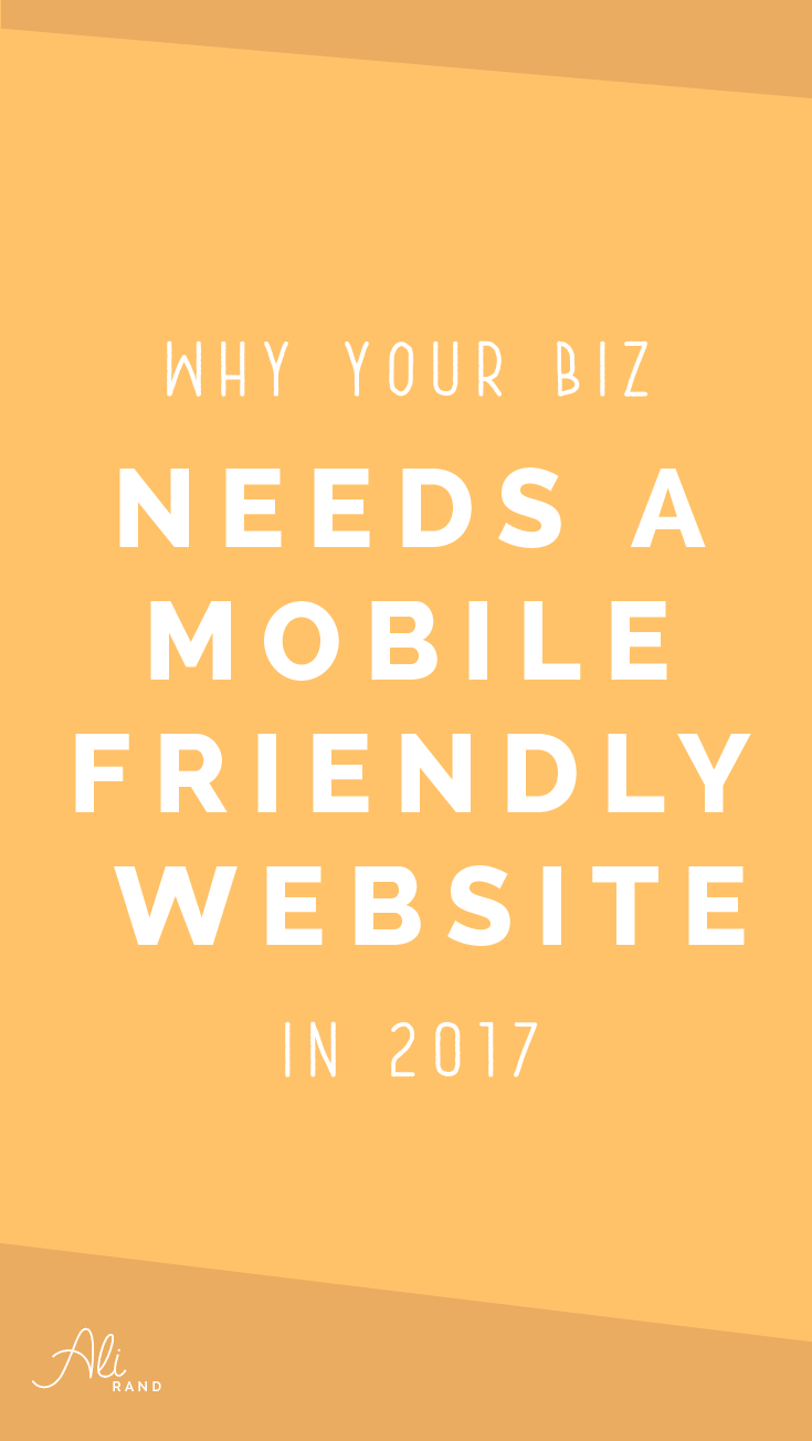 Find out why your business needs a mobile-friendly website so you're not left in the dust!