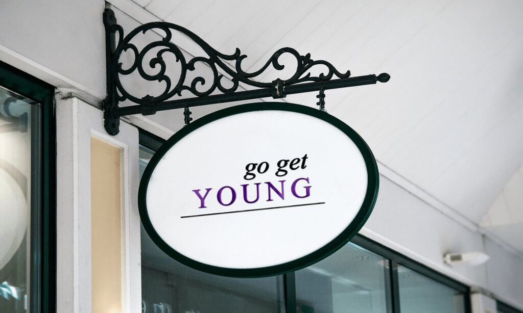 Go Get Young brand and blog design