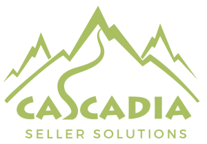 Cascadia Seller Solutions Logo Transparent Green