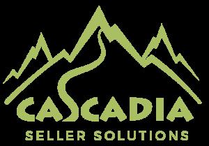 Cascadia Seller Solutions Logo Transparent Green