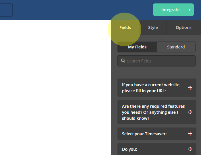Adding fields to your ActiveCampaign form
