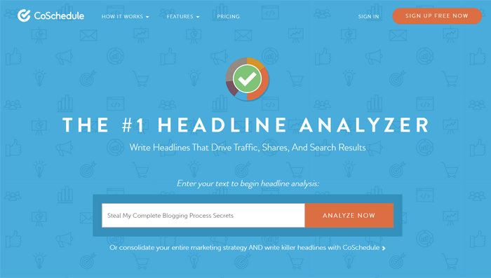 CoSchedules Headline Analyzer