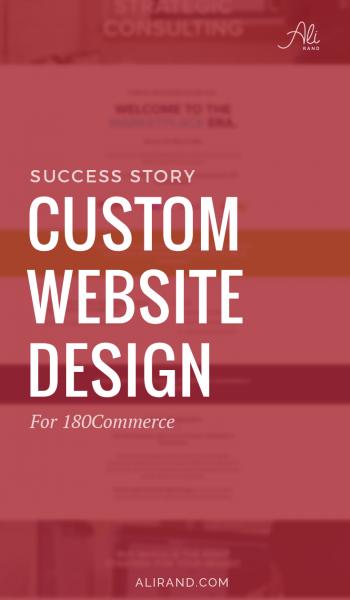 Website Design Success Story: 180Commerce