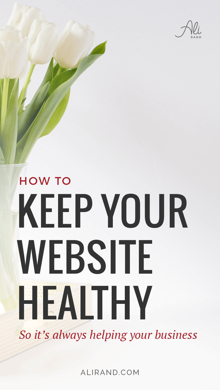 "Want to keep your website safe and healthy but aren't sure HOW to do it? You aren't 100% sure if your site has malware or if it's been hacked, and you can't risk losing all your hard work and money? In my latest post, I walk you through how to find out how ""Healthy"" your website actually is and what you need to do to make sure it stays that way! Get peace of mind here: https://alirand.com/healthy-clean-website/"