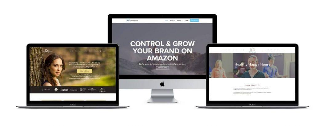 Springboard to Sales custom WordPress websites by Ali Rand Websites
