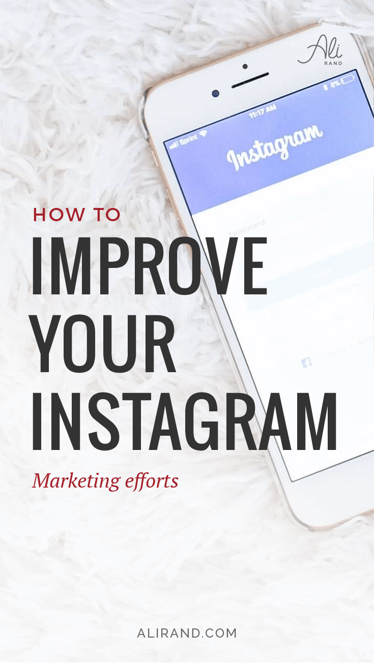 Are you using Instagram to market your business correctly? Or are you leaving money on the table? Find out what your business should be doing on Instagram in my latest post https://alirand.com/instagram-marketing-tips/ #instagram #socialmedia #marketing #smallbiz #entrepreneur