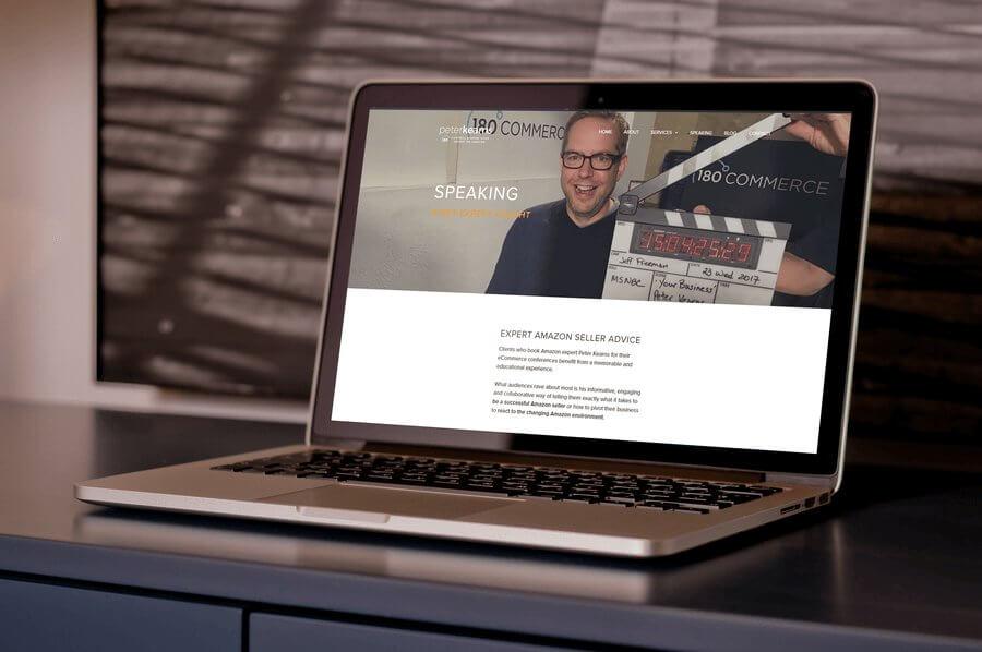 peter kearns testimonial for ali rand springboard to sales custom website