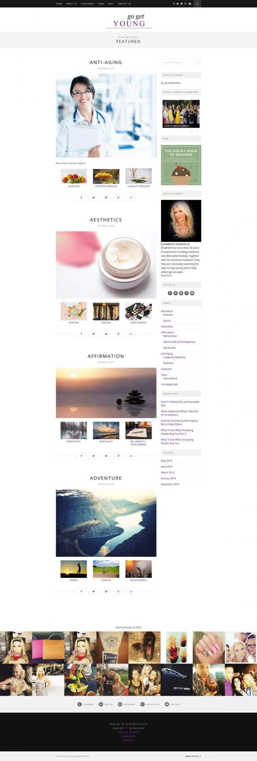 go_get_young_blog_home_page_design