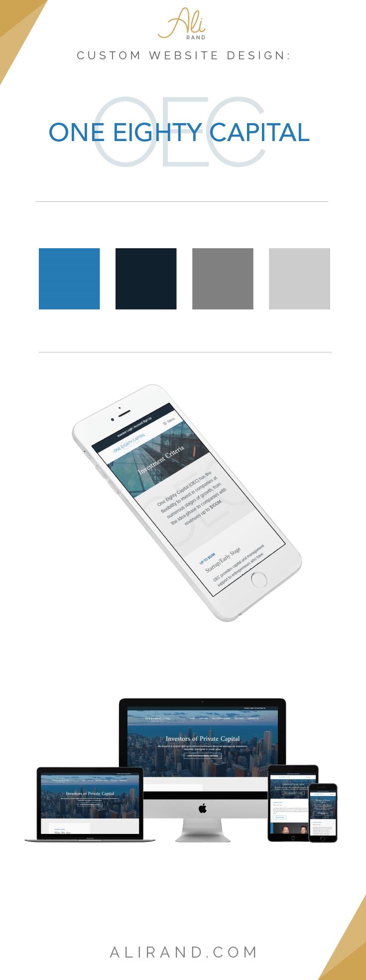 One Eighty Commerce Custom Wordpress Website Design