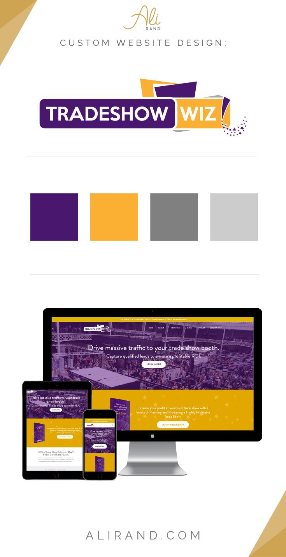 Trade Show Wiz custom website design portfolio